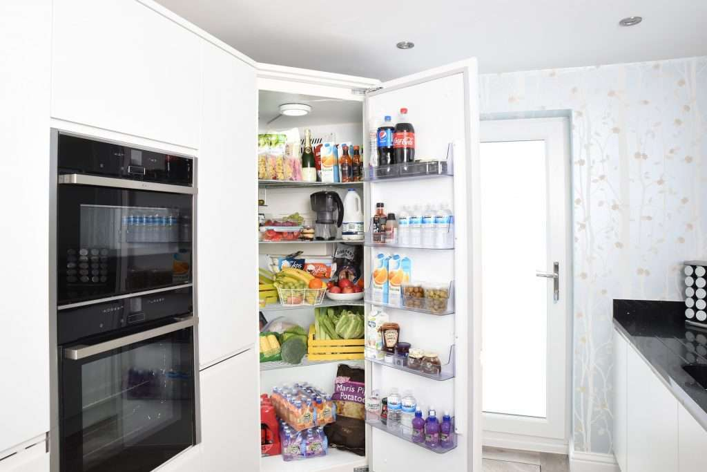 stocking fridge for productive home office