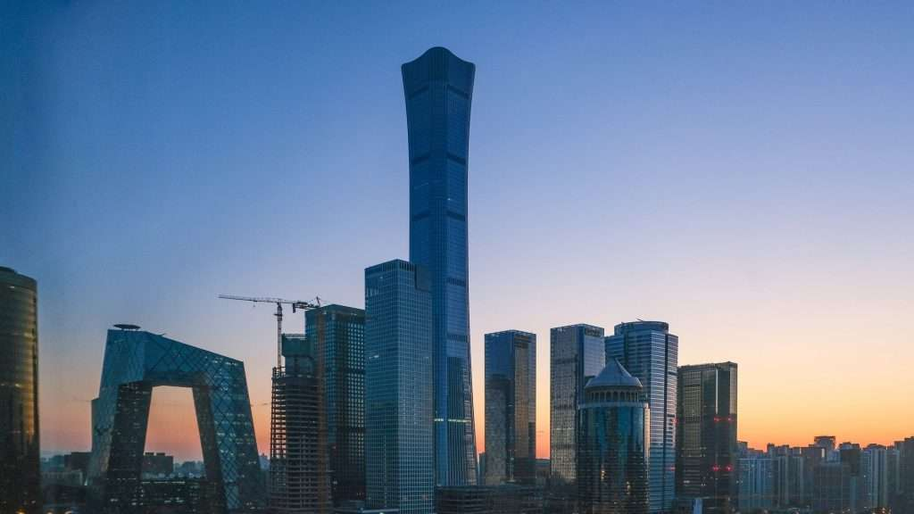 work in Beijing and Visit the Central Business District